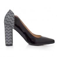 Pantofi Piele Lacuita Evan T39 - orice Culoare