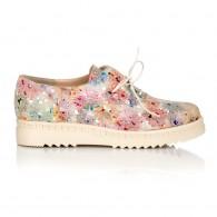 Pantofi Oxford Piele Floral C10 - orice culoare
