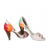 Pantofi Pictati P103 - orice culoare