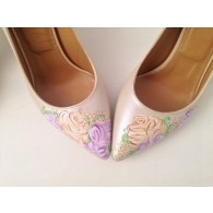 Pantofi Pictati Manual Delicate Flower - orice culoare