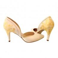 Pantofi Pictati P145 - orice culoare
