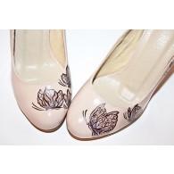 Pantofi Pictati P151 - orice culoare