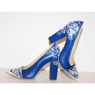 Pantofi Pictati P154 - orice culoare