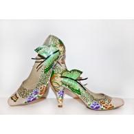 Pantofi Pictati P158 - orice culoare