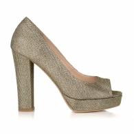 Pantofi Auriu Ersa L20 -  pe stoc