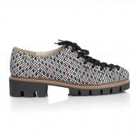 Pantofi Talpa Bocanc Piele Color V70 - orice culoare
