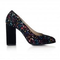 Pantofi Dama Piele Anais Multicolor II V40 - orice culoare