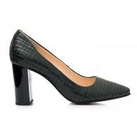 Pantofi Piele Verde Presaj Anne C40 - orice culoare