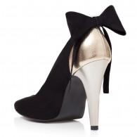 Pantofi Stiletto Piele Intoarsa Cu Funda Derin T41  - orice culoare