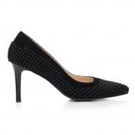 Pantofi Stiletto Piele Negru Model C45 - orice culoare