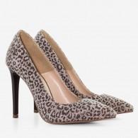 Pantofi Stiletto Piele Animal Prina D40 - Orice Culoare