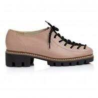 Pantofi Talpa Bocanc Piele Nude V70 - orice culoare