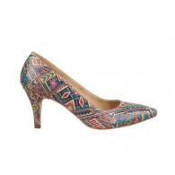 Pantofi din piele naturala N54 - orice culoare