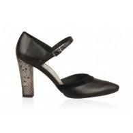 Pantofi din piele naturala N70 - orice culoare
