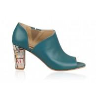 Pantofi din piele naturala N81 - orice culoare