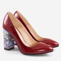 Pantofi dama din piele naturala D50 - orice culoare