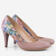 Pantofi dama din piele naturala D56 - orice culoare