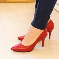 Pantofi dama din piele naturala D66 - orice culoare
