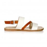 Sandale piele talpa joasa Gloria V5- pe stoc