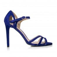 Sandale dama piele Diva Albastru electrc F4 - pe stoc