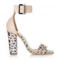 Sandale Piele Animal Print Color Stylish L1  - orice culoare