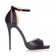 Sandale dama piele negru Lola S2 - Orice culoare