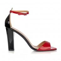 Sandale Piele Lacuia Rosu Elegant L1 - orice culoare