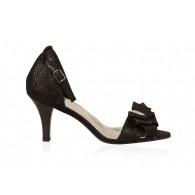 Sandale Dama Piele cu Funda N64 - orice culoare