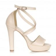 Sandale Dama Piele Clara Nude C7 - orice culoare