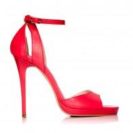 Sandale dama piele rosu Lola S2 - Orice culoare