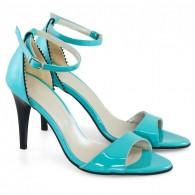 Sandale Piele Turquoise Alisa D10 - orice culoare