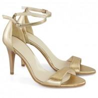 Sandale Piele Auriu Alisa D10 - orice culoare