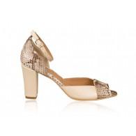 Sandale dama piele N16 - Orice culoare