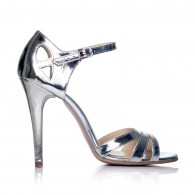 Sandale dama piele Diva Argintiu F4 - orice culoare