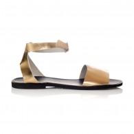 Sandale dama piele auriu Mary- orice culoare