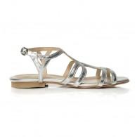 Sandale dama talpa joasa C1 Argintiu - orice culoare