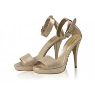 Sandale Piele Auriu N4 - orice culoare