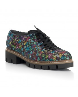 Pantofi Talpa Bocanc Piele Bordo/Color V70 - orice culoare