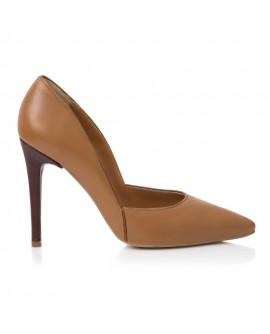 Pantofi Dama Piele Camel Layla E6- orice culoare