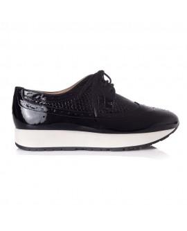 Pantofi Dama Sport Piele Lacuita T23 - orice culoare