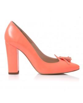 Pantofi Dama Lac Corai Ciucuras E7 - orice culoare