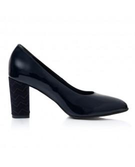 Pantofi Dama Piele Turcoaz April T30 - Orice Culoare