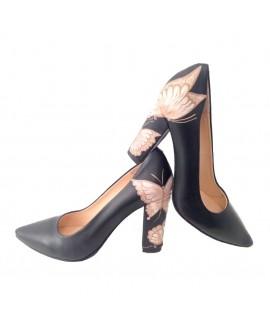 Pantofi Pictati P135 - orice culoare