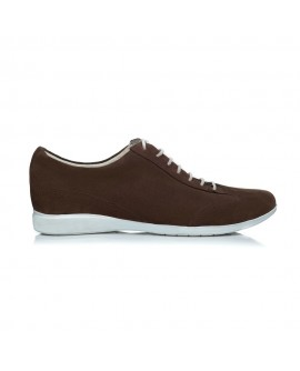 Pantofi piele sport barbati maro