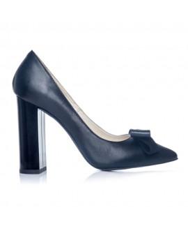 Pantofi Stiletto Toc Gros Negru S1 - orice culoare