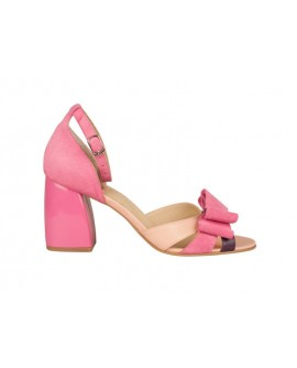 Sandale Piele Roz Tov Evazat Chic N42 - orice culoare