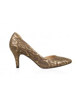 Pantofi din piele naturala N63 - orice culoare