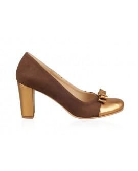 Pantofi din piele naturala N65 - orice culoare