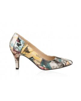 Pantofi din piele naturala N69 - orice culoare