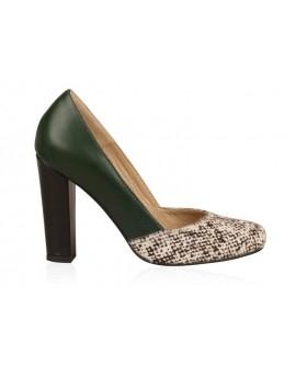 Pantofi din piele naturala N74 - orice culoare